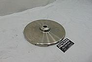 Titanium Anode BEFORE Chrome-Like Metal Polishing - Titanium Polishing Services - Government Polishing Services
