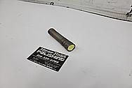 Titanium Flashlight BEFORE Chrome-Like Metal Polishing - Titanium Polishing