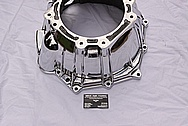 4L60E Transmission Aluminum Bell Housing AFTER Chrome-Like Metal Polishing and Buffing Services