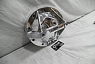Trans Am Aluminum Differential Housing Cover AFTER Chrome-Like Metal Polishing and Buffing Services / Restoration Services Plus Custom Fabrication and Engraving Services