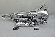 700 R4 Aluminum Transmission AFTER Chrome-Like Polishing and Buffing - Aluminum Polishing