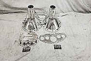 Aluminum Rear End Differential Housings AFTER Chrome-Like Polishing and Buffing - Aluminum Polishing