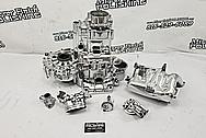Aluminum Transaxle Case AFTER Chrome-Like Polishing and Buffing - Aluminum Polishing - Transaxle Polishing