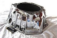 4L60E Chevy GM LS1 Style Aluminum Transmission Bell Housing Case AFTER Chrome-Like Metal Polishing and Buffing Services