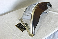 Aluminum Transmission Cover Piece AFTER Chrome-Like Metal Polishing and Buffing Services / Restoration Services