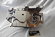 Harley Davidson Aluminum Transmission Parts AFTER Chrome-Like Metal Polishing and Buffing Services / Restoration Services