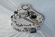 4 Cylinder Car Engine Aluminum Transmission AFTER Chrome-Like Metal Polishing and Buffing Services / Restoration Services