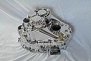 4 Cylinder Car Engine Aluminum Transmission AFTER Chrome-Like Metal Polishing and Buffing Services / Restoration Services