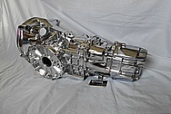 1989 Porsche 944 Turbo Aluminum Transmission AFTER Chrome-Like Metal Polishing and Buffing Services / Restoration Services