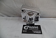 Volvo A40D Heavy Duty Articulated Truck Aluminum Transmission Part AFTER Chrome-Like Metal Polishing and Buffing Services / Restoration Services