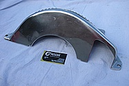 Aluminum Transmission Cover Piece BEFORE Chrome-Like Metal Polishing and Buffing Services / Restoration Services