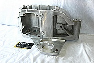 Harley Davidson Aluminum Transmission Parts BEFORE Chrome-Like Metal Polishing and Buffing Services / Restoration Services