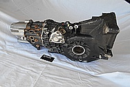 1989 Porsche 944 Turbo Aluminum Transmission BEFORE Chrome-Like Metal Polishing and Buffing Services / Restoration Services
