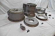 Volvo A40D Heavy Duty Articulated Truck Aluminum Transmission Parts BEFORE Chrome-Like Metal Polishing and Buffing Services / Restoration Services