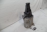 Aluminum Transmission Case BEFORE Chrome-Like Metal Polishing and Buffing Services / Restoration Services