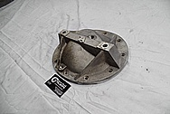Trans Am Aluminum Differential Housing Cover BEFORE Chrome-Like Metal Polishing and Buffing Services / Restoration Services Plus Custom Fabrication and Engraving Services