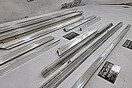 Stainless Steel Trim Pieces BEFORE Chrome-Like Metal Polishing and Buffing Services / Restoration Services - Stainless Steel Polishing