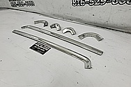 Chevy Corvette Stainless Steel Trim Pieces AFTER Chrome-Like Metal Polishing and Buffing Services / Restoration Services - Stainless Steel Polishing - Trim Polishing