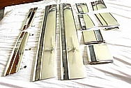 Steel Trim Pieces AFTER Chrome-Like Metal Polishing and Buffing Services / Restoration Services
