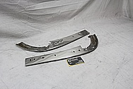 1967 Chevrolet Corvette Steel Trim Piece AFTER Chrome-Like Metal Polishing and Buffing Services / Restoration Services