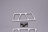 2004 Ford Mustang Cobra Aluminum Door Seal Trim AFTER Metal Polishing and Buffing Services