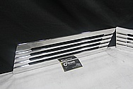 1932 Ford Highboy Aluminum Insert Trim Pieces AFTER Chrome-Like Metal Polishing and Buffing Services / Restoration Services