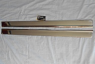 Stainless Steel Trim Pieces AFTER Chrome-Like Metal Polishing and Buffing Services / Restoration Services