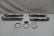 Stainless Steel Bumper Trim Pieces AFTER Chrome-Like Metal Polishing and Buffing Services / Restoration Services