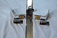 Aluminum Chevy Trim Piece AFTER Chrome-Like Metal Polishing and Buffing Services / Restoration Services