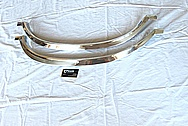 Chevy El Camino Stainless Steel Trim Pieces AFTER Chrome-Like Metal Polishing and Buffing Services