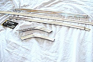 Stainless Steel Trim Pieces AFTER Chrome-Like Metal Polishing and Buffing Services