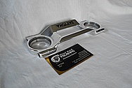 Daytona Aluminum Trim Piece AFTER Chrome-Like Metal Polishing and Buffing Services / Painting Services - Aluminum Polishing