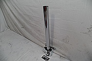 Steel Steering Column Shaft AFTER Chrome-Like Metal Polishing and Buffing Services - Steel Polishing