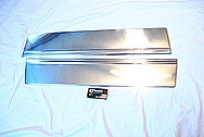 1989 Chevy Caprice Classic Stainless Steel Trim Pieces AFTER Chrome-Like Metal Polishing and Buffing Services