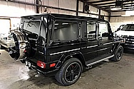 2013 Mercedes Benz G63 AMG G Wagon Stainless Steel Tire and Wheel Cover Trim Piece AFTER Chrome-Like Metal Polishing and Buffing Services - Stainless Steel Polishing
