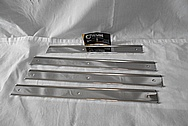 1970 Oldsmobile Vista Cruiser Stainless Steel Trim Pieces AFTER Chrome-Like Metal Polishing and Buffing Services - Stainless Steel Polishing