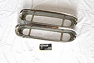 GM Cadillac Stainless Steel Trim Pieces AFTER Chrome-Like Metal Polishing and Buffing Services