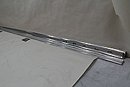 Chevy Impala SS Vintage Vehicle Trim Pieces AFTER Chrome-Like Metal Polishing and Buffing Services - Stainless Steel Polishing