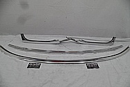 MG / MGB / Austin Healey Aluminum Trim Pieces AFTER Chrome-Like Metal Polishing and Buffing Services / Restoration Services - Aluminum Polishing Services