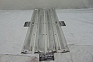 1958 Chevrolet Corvette Stainless Steel Trim Pieces AFTER Chrome-Like Metal Polishing and Buffing Services - Stainless Steel Polishing