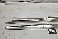 Vintage Stainless Steel Trim Pieces AFTER Chrome-Like Metal Polishing - Stainless Steel Polishing - Trim Polishing