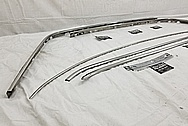 Vintage Automotive Trim Pieces AFTER Chrome-Like Metal Polishing and Buffing Services - Steel Polishing Services
