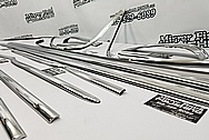 Stainless Steel Trim Pieces AFTER Chrome-Like Metal Polishing and Buffing Services - Stainlees Steel Polishing