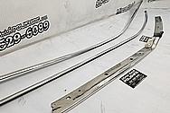 Aluminum Trim Pieces AFTER Chrome-Like Metal Polishing - Aluminum Polishing Services