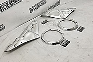 Aluminum Truck Trim Pieces AFTER Chrome-Like Metal Polishing - Aluminum Polishing Services