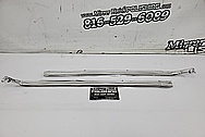 1970 Dodge Challenger Stainless Steel Trim Pieces AFTER Chrome-Like Metal Polishing - Stainless Steel Polishing Services