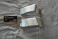 Aluminum Chevy Trim Piece BEFORE Chrome-Like Metal Polishing and Buffing Services / Restoration Services
