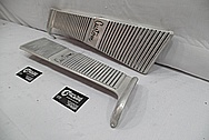 Aluminum Trim Piece BEFORE Chrome-Like Metal Polishing and Buffing Services / Restoration Services