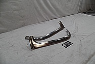1956 Chevy Bel Air Stainless Steel Trim Pieces BEFORE Chrome-Like Metal Polishing and Buffing Services / Restoration Service