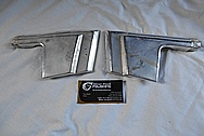 1977 Ford RancheroAluminum Trim Pieces BEFORE Chrome-Like Metal Polishing and Painting Services - Aluminum Polishing
